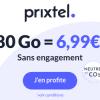 🔥 Prixtel, illimité/de 80Go à 130Go dès 7€/mois (1 an)
